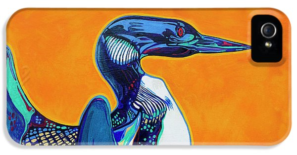 Loon iPhone 5 Case - Loon by Derrick Higgins