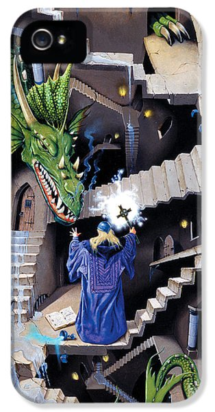Lord Of The Dragons IPhone 5 / 5s Case by Irvine Peacock