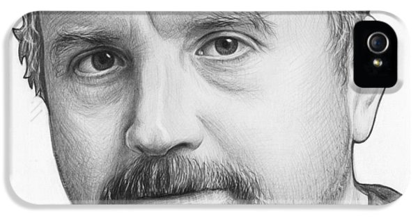 Louis Ck Portrait IPhone 5 Case