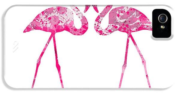 Love Flamingos IPhone 5 Case