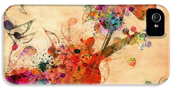 Love Music  IPhone 5 Case by Mark Ashkenazi
