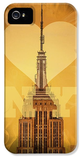 Love New York IPhone 5 / 5s Case by Az Jackson