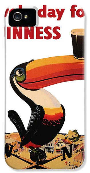 Lovely Day For A Guinness IPhone 5 Case by Georgia Fowler