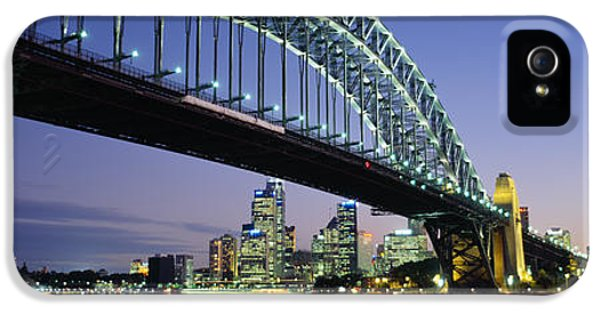 Low Angle View Of A Bridge, Sydney IPhone 5 Case