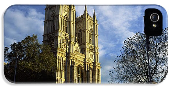 Low Angle View Of An Abbey, Westminster IPhone 5 Case by Panoramic Images