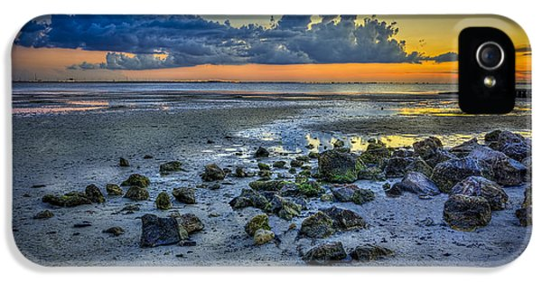 Low Tide On The Bay IPhone 5 Case