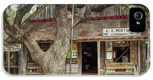 Luckenbach 2 IPhone 5 Case by Scott Norris