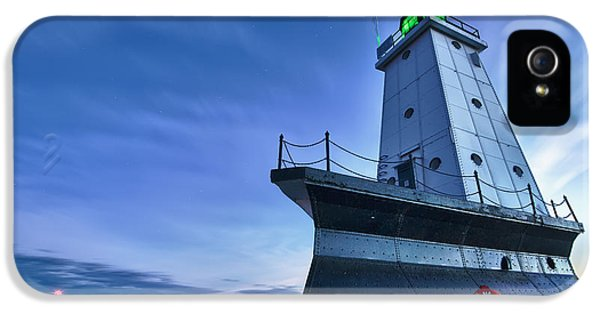 Ludington North Breakwater Lighthouse IPhone 5 Case by Sebastian Musial