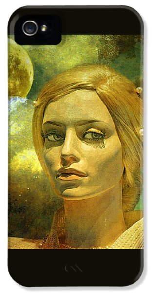 Luna In The Garden Of Evil IPhone 5 Case by Chuck Staley