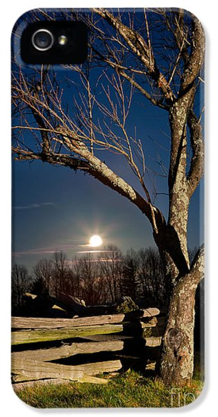 Lunar Landing - Blue Ridge Parkway IPhone 5 / 5s Case by Dan Carmichael