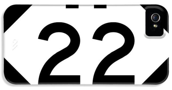 M 22 IPhone 5 Case