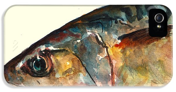 Mackerel Fish IPhone 5 Case by Juan  Bosco