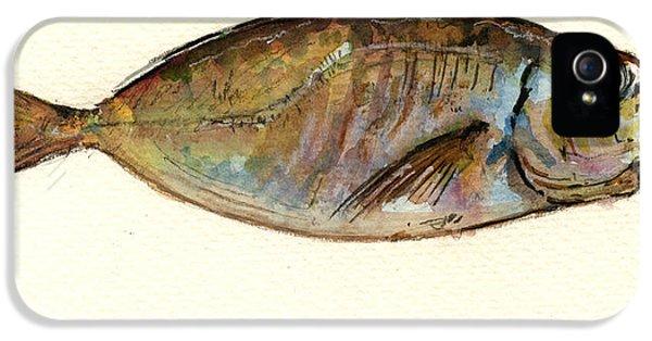 Mackerel Scad IPhone 5 Case by Juan  Bosco