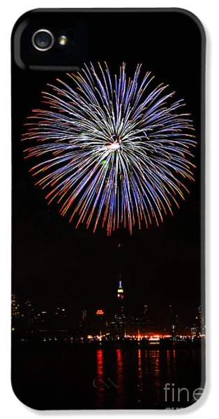 Fireworks Over The Empire State Building IPhone 5 Case