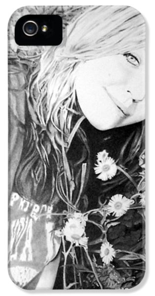 Maddie IPhone 5 Case by James Obert
