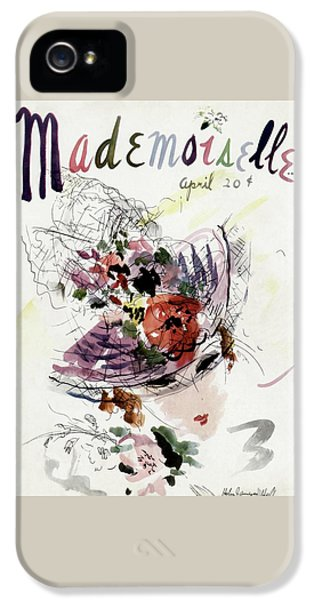 Mademoiselle Cover Featuring An Illustration IPhone 5 Case by Helen Jameson Hall