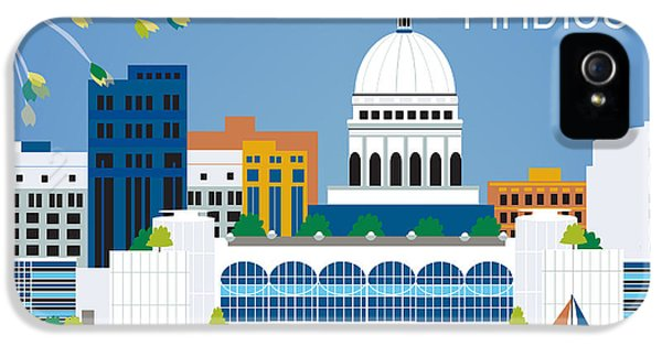 Madison IPhone 5 Case by Karen Young