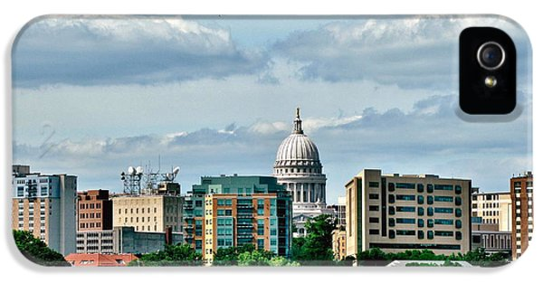 Madison Skyline IPhone 5 Case by Marilyn Smith