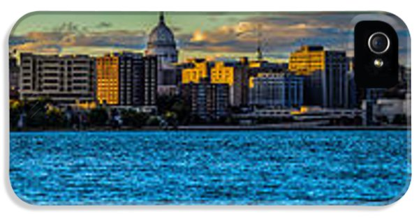 Madison Twilight Panorama IPhone 5 Case by Randy Scherkenbach