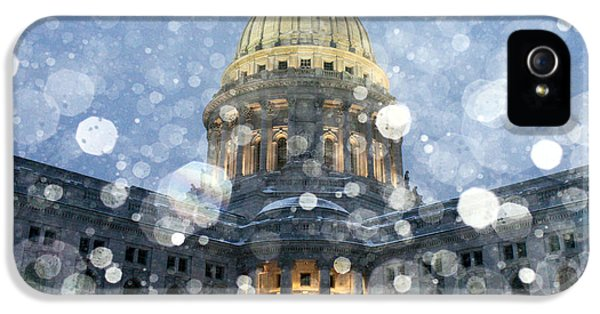 Madisonian Winter IPhone 5 Case by Todd Klassy