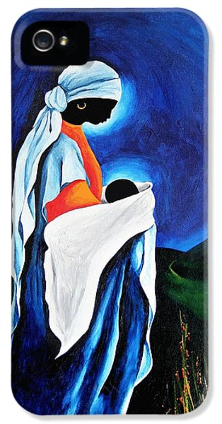 Madonna And Child - Beloved Son, 2008 IPhone 5 Case by Patricia Brintle