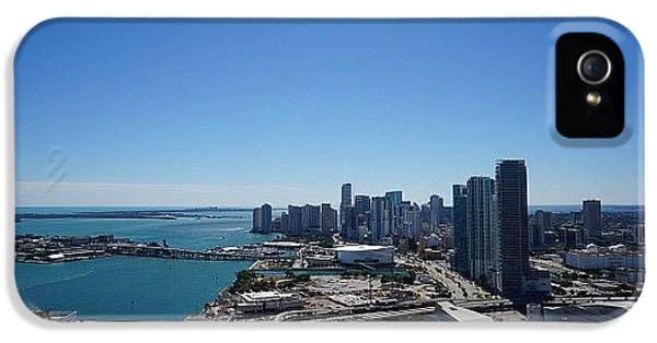 Iger iPhone 5 Case - Magic City Skyline by Joel Lopez