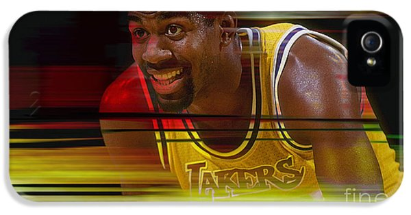 Magic Johnson IPhone 5 Case