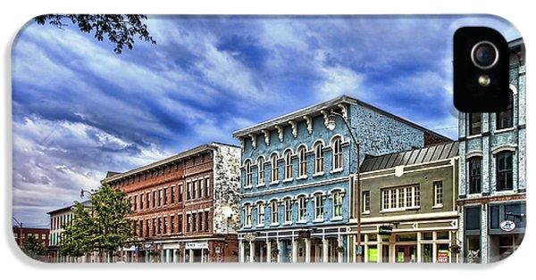 Main Street Usa IPhone 5 Case by Tom Mc Nemar