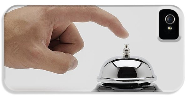 Man About To Ring A Bell IPhone 5 Case by Kelly Redinger