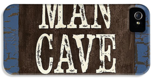 Man Cave Enter At Your Own Risk IPhone 5 Case by Debbie DeWitt
