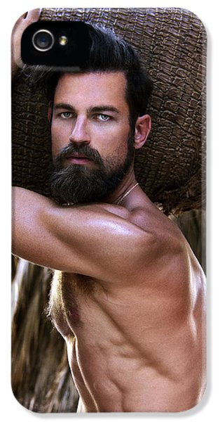 Man From Earth Color IPhone 5 Case by William Dey