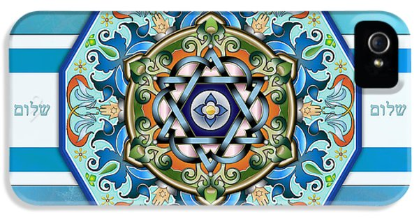 Mandala Shalom Sp IPhone 5 Case