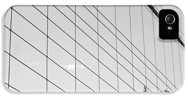 Manhattan From Brooklyn Bridge IPhone 5 Case by Ilker Goksen