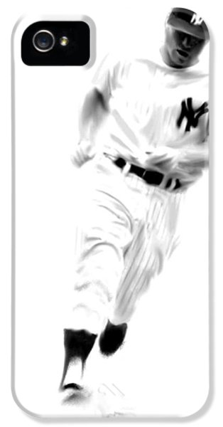 Mantles Gate  Mickey Mantle IPhone 5 Case