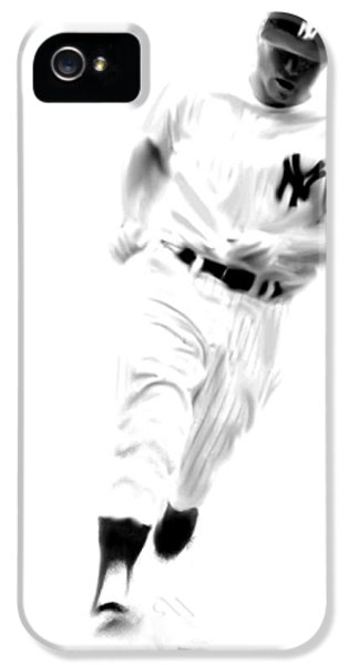 Mantles Gate  Mickey Mantle IPhone 5 / 5s Case by Iconic Images Art Gallery David Pucciarelli