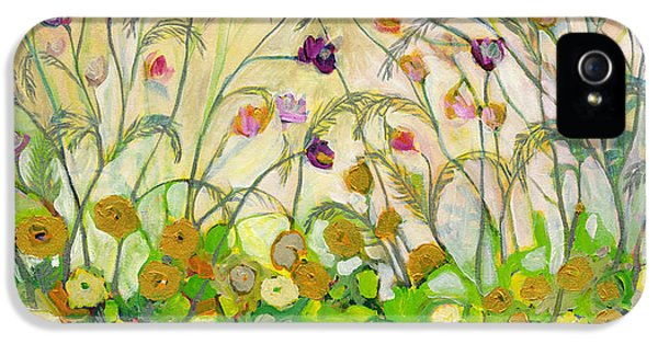 Floral iPhone 5 Case - Mardi Gras by Jennifer Lommers