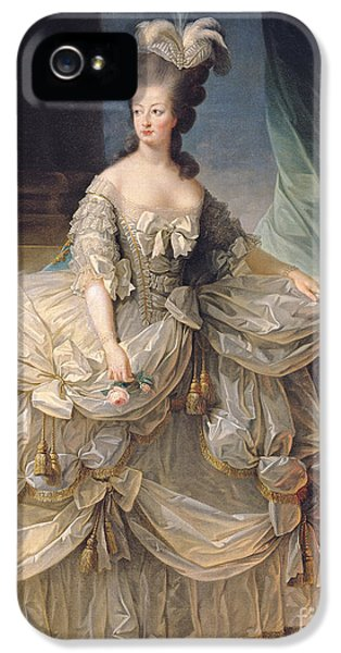 Marie Antoinette Queen Of France IPhone 5 Case by Elisabeth Louise Vigee-Lebrun