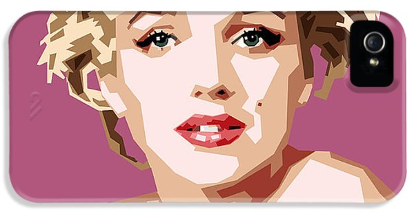 Marilyn IPhone 5 Case by Douglas Simonson