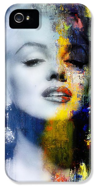 Marilyn Monroe iPhone 5 Case - Marilyn by Mal Bray