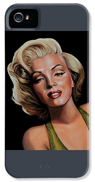 Marilyn Monroe 2 IPhone 5 / 5s Case by Paul Meijering