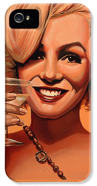 Marilyn Monroe 5 IPhone 5 Case by Paul Meijering
