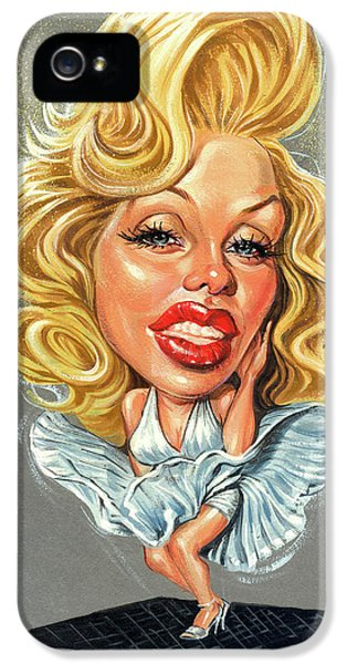 Marilyn Monroe IPhone 5 Case by Art