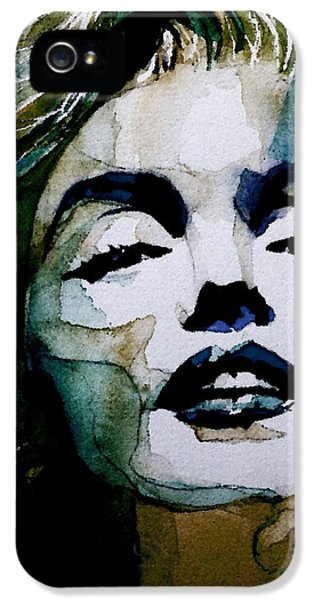 Marilyn No10 IPhone 5 Case by Paul Lovering