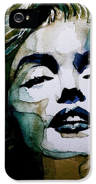 Legends iPhone 5 Case - Marilyn No10 by Paul Lovering