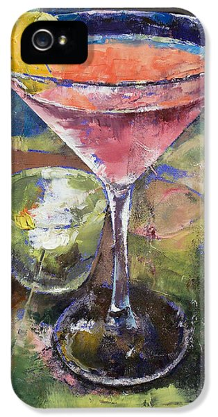 Martini IPhone 5 Case by Michael Creese