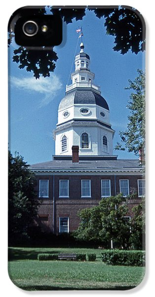 Maryland State House IPhone 5 Case by Skip Willits