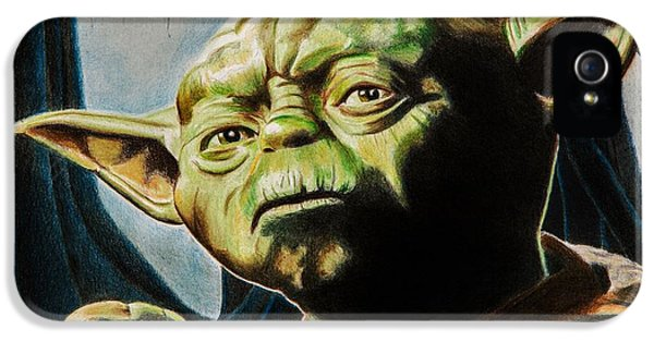 Master Yoda IPhone 5 Case by Brian Broadway