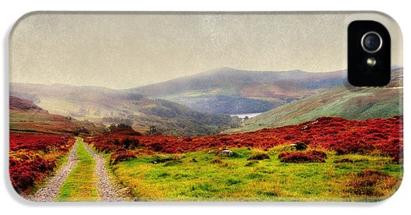 May It Be Your Journey On. Wicklow Mountains. Ireland IPhone 5 Case