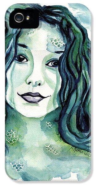 Maybe I'm A Mermaid IPhone 5 Case