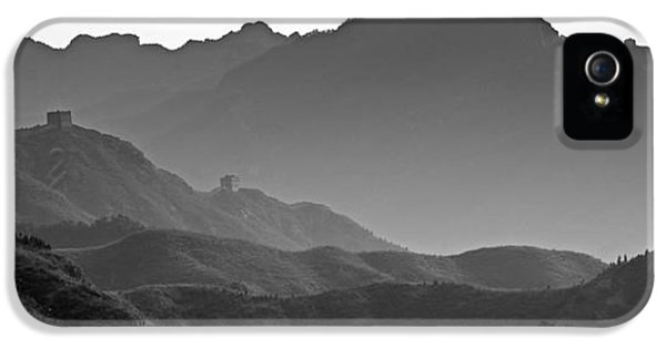 Meandering Great Wall Of China IPhone 5 Case by Brendan Reals